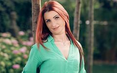 Outdoor (kfbfotografie.de) Tags: portrait tree standing hair redhair