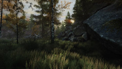 VOEC - 027 (Screenshotgraphy) Tags: sunset sky mountain lake game nature colors architecture clouds contrast montagne landscape pc screenshot lumire couleurs country lac ethan steam gaming ciel beaut carter concept nuages paysage vanishing campagne beautifull jeu naturelle urbain