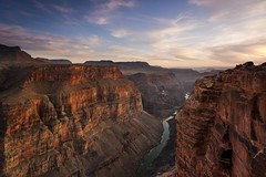 Woman Falls to Her Death at Grand Canyon After Posting Photo From the Edge (CameraGuy105c10) Tags: sunset arizona usa horizontal river landscape outdoors unitedstates grandcanyon nopeople canyon page scenics eroded rockformation mountainrange tranquilscene traveldestinations beautyinnature nonurbanscene extremeterrain highangleview toroweapoverlook