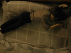 Sleepy Time 001 (EmpathicMonkey) Tags: toby ball toys happy monkey photo dolls olive story bjd jointed bluefairy