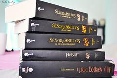 Un poco de Tolkien (spawn5555) Tags: life nikon cotidiano libri biblioteca fantasia libros tolkien parole letra elseordelosanillos d3000