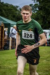 Scots Guard Runner (FotoFling Scotland) Tags: tattoo scotland argyll event athlete lochlomond highlandgames luss scotsguard lusshighlandgames lussgathering