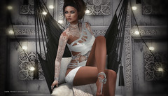 Etnic Touch  (aura.meads) Tags: white design eclipse widow industries letre astralia catwa realevil