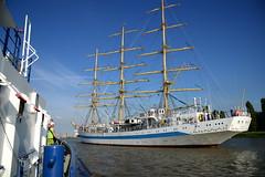 Tall Ship's Race 2016 Mir met Fairplay III DST_4287 (larry_antwerp) Tags: fairplayiii antwerptowage mir antwerp antwerpen       port        belgium belgi          schip ship vessel        schelde        tallshipsrace