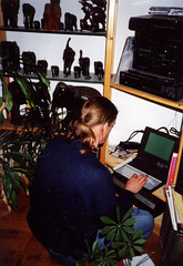 Back in time  - 1993 (gill4kleuren - 8.8 ml views) Tags: old me vintage word back pc perfect gill