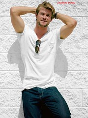 Thinking Handcuffs and some whip cream AND Chris Hemsworth YUMMY (Jaclyn Diva) Tags: chrishemsworth thorshammer chrishemsworthpictures chrishemsworthgallery sexychrishemsworthpictures actorchrishemsworth chrishemsworthshirtless hunkchrishemsworth