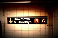 Downtown & Brooklyn (paul.rosa88) Tags: nyc brooklyn canon subway rebel downtown manhattan tunnel t3i rebelt3i fxphotostudiopro