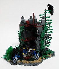Abandoned Tower Part 1 (Julius No) Tags: black tower abandoned 1 lego part falcons guilds historica