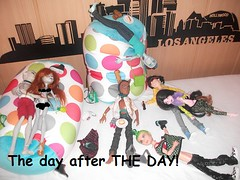 The Day after THE DAY! ... (RochelleGoyle) Tags: boys monster high wolf day jackson mens gil webber deuce jekyll gorgon granit goyle clawd gillington draculogan cupcakefreak17