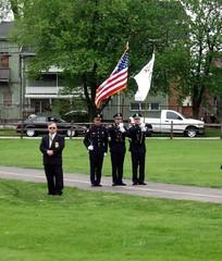 IL - Park Ridge Police Honor Guard (Inventorchris) Tags: park county car office illinois memorial guard cook police honor il ridge cop vehicle law enforcement squad department illionis 2013