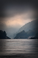 Rollin' down the River (Dave Hilditch Photography) Tags: travel mountains clouds boats landscapes ngc hills rivers laos mekong coth fleursetpaysages