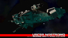 Nostromo-final (axeman3d) Tags: movie ship space alien nostromo
