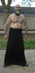 black Erosemo skirt 1 (old_hippie_1954) Tags: gay shirtless face tattoo goatee shaved bald tattoos hippie nosering shavedhead barechest bullring skinhead septum septumpiercing facetattoo maninskirt nosepeircing manskirt facetattoos scalptattoo skirtedman gayskinhead facepeircing visibletattoos facialtattoosandpiercings facetattoosandpeircings facepeircings celtictorc mebarechest erosemoskirt