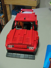 Front (LegoSamBo) Tags: silhouette skyline nissan lego super