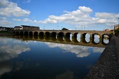 Barnstaple long bridge-KJB_4606 (celvin2009) Tags: uk water river nikon devon barnstaple d600 rivertaw kelvinbennett