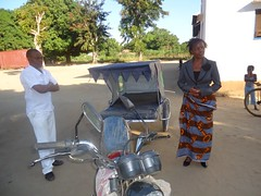 Bicycle ambulance-Moz (PWRDF) Tags: africa bicycle child pregnant ambulance health newborn motorcycle delivery care maternal mozambique pwrdf