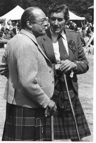 roderick macleod with sir ivar colquhoun of luss