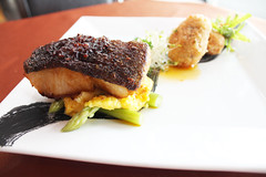 Pan Seared Cod with Prawn Brandade (thelimestones) Tags: with fine dining pan cod prawn seared the brandade limestones