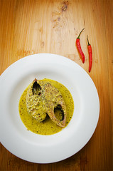 Steamed Hilsa in Mustard (Beyond Elements) Tags: food fish dinner indian traditional bengal bengali bangali ilish hilsa