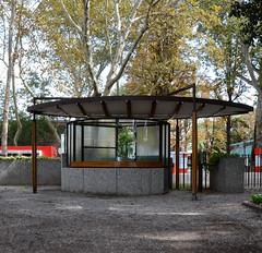 carlo scarpa, architect: biennale ticket booth, venice 1952
