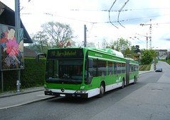 Bern bus No. 856 (johnzebedee) Tags: bus switzerland transport mercedesbenz bern publictransport biogasbus johnzebedee