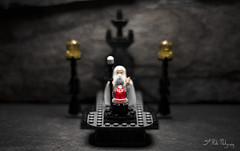 The power of Isengard is at your command, Sauron, Lord of the Earth. (3rd-Rate Photography) Tags: brick canon toy 50mm book lego florida 7d figure jacksonville lordoftherings minifig jrrtolkien sauron saruman minifigure toyphotography isengard palantíri 79005 earlware 3rdratephotography 3rdratephotoskwall