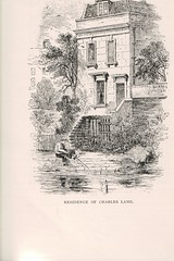 Residence of Charles Lamb SCAN0905 (tomylees) Tags: old history book series residence charleslamb