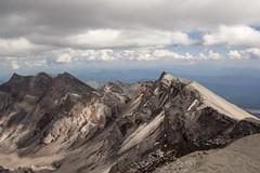 Mt. St. Helens climb - August 2013 (Lisa Norwood) Tags: mountain volcano climb washington view august hike rim range cascade mtsthelens 2013