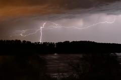 Fulmini sul Po (fr86mn) Tags: storm fiume po temporale elettricit fulmine fulmini fiumepo eventoatmosferico