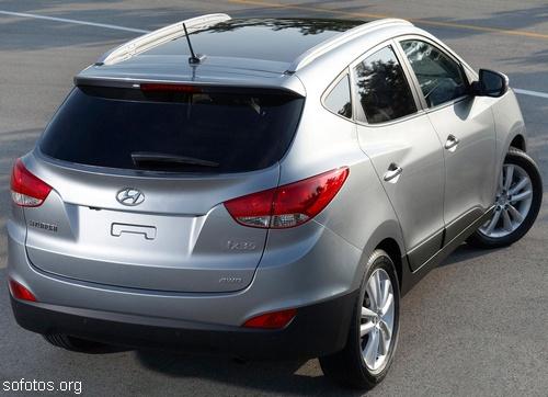 Hyundai ix35 novo tucson prata