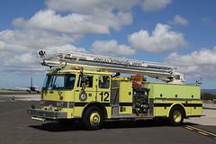 Y12 (adelaidefire) Tags: fire airport international hawaiian pierce honolulu airlines department hia arff telesqurt