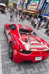 Ferrari <Attack on Titan> (Akihabara, Tokyo, Japan) (t-mizo) Tags: car japan canon tokyo sigma ferrari   akihabara akiba  lr chiyodaku lightroom  chiyoda     lr4 sigma175028 itasha sigma1750  sigma1750mm sigma1750f28 sigma1750mmf28 eos60d sigma1750mmf28exdcoshsm sigma1750mmoshsm lightroom4 sigma1750mmf28exdcos  sigma1750exdc attackontitan