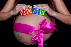 Perfect gift...Life (Lu'lu11) Tags: pink baby colors girl canon flickr letters happiness gift blocks ruby capture t3i