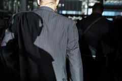 (ziemowit.maj) Tags: shadow sunlight morninglight back streetphotography wideangle suit upclose morningcommute myshadow londonbridgestation centrallondon candidphotography straightphotography primelens ef35mmf14l canon5dmkiii maninasuitwithmyshadowonhisback