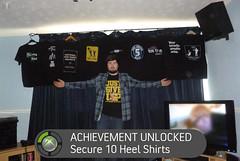 Jed Gilbert reaches 10 Shirts