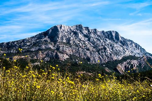 Sainte Victoire en Provence