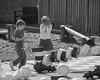 Timber! (Duncan Herring) Tags: blackandwhite bw monochrome playground kids chess falling blenheimpalace draughts knockedover duncanherring