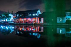 (~~Olivia ZZ~~) Tags: china longexposure light building night town ancient xitang  nikkor    d800  1635    2013