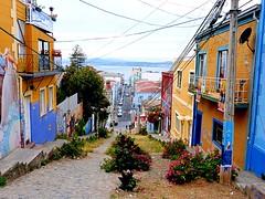 Calles de Cerro Alegre - Alegre Hill Streets (Valparaiso, Chile) (Cris Photos (Thanks for 1,5 Million views)) Tags: chile port puerto valparaiso eperke creativemindsphotography