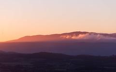 First Light (Philipp Klinger Photography) Tags: light sky cloud sun mountain france sunrise landscape nikon purple zoom hill first paca tele layers provence rise luberon gordes d800 vaucluse provencealpescôtedazur nikond800
