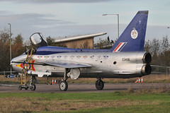 DSC_2238 (Tim Beach) Tags: uk england english electric airport fighter aircraft jet t5 111 lightning 92 raf bac squadron cranfield sqn englishelectric xs458