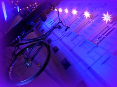 BICIGHT (L C L) Tags: street blue azul night germany lights navidad luces noche calle nikon europa europe december peace paz calm lane coolpix alemania wish diciembre christmastime luminoso berln lcl deseos 2013 loretocantero christmasatberlin