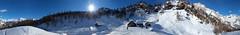 Devero's 360 Panorama (filippo rome) Tags: devero alpedevero parcoregionalealpevegliaealpedevero vco verbania italy italia snow neve nature natura mountains montagna panorama 360 autostitch panorama360 visitpiedmontitaly
