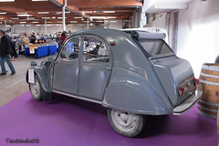 Citroën 2CV AZL 1957 (tautaudu02) Tags: auto cars automobile citroën moto 2cv coches voitures azl rétro béziers 2013 rétrofolies