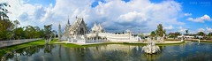 Wat Rong Khun - Reflection Panorama (Soma Images) Tags: travel light white jason color reflection green art beautiful beauty silver dark asian thailand temple photography gold mirror golden design colorful asia pretty heaven artist photographer bright god good buddha buddhist south famous north hell mirrors evil images east architect monastery thai painter reflective gods designs gleam meditation soma ornate psychedelic wat northern chiang striking dharma powerful khun shining rai bizarre magnificent gleaming masterpiece arron rong chalermchai kositpipat chalermchaikositpipat whitetemple watrongkhun