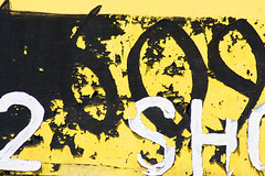 609 (wooze66) Tags: old black yellow shop paint decay nine number six zero 609