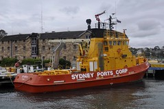Sydney Ports Corporation's 'Ted Noffs' (john cowper) Tags: sydney newsouthwales pilot sydneyharbour millerspoint tednoffs marinebase mooreswharf sydneyportscorporation