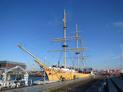 Schip Pollux Amsterdam NDSM haven (Arthur-A) Tags: netherlands amsterdam ship nederland tallship pollux zeilschip schip