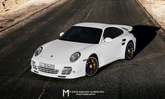 Great White (Mishari Al-Reshaid Photography) Tags: road white cars canon cool automobile desert wheels 911 exotic german porsche autos 997 carphoto canoneflens automotivephotography canonllens 24105f4is misharialreshaid misharyalrasheed