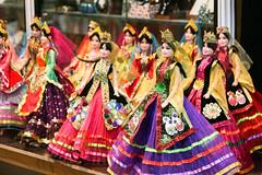 Persian dolls in Vakil Bazaar, Shiraz (inchiki tour) Tags: travel photo doll iran market persia silkroad shiraz  bazaar  vakil